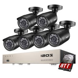 ZOSI 8 Channel Outdoor Security Camera System with 1TB HDD 6