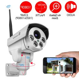 Luowice 1080P Security Camera Indoor/Outdoor with PTZ 4X Zoo