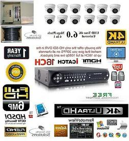 12CH Security Network DVR HD-SDI System Package 12TB HD 12 I