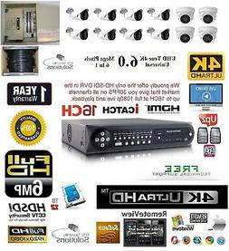 12CH Security Network DVR HD-SDI System Package 12TBHD 4 Ind