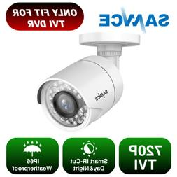 SANNCE 1x 720P HD 1500TVL Outdoor Home CCTV Security Camera