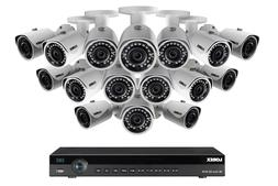 2K IP Security Camera System with 16 Channel NVR and 16 HD O