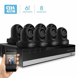 Amcrest 2MP Security Camera System 4K 16CH NVR 8 x 2MP Dome