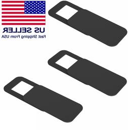 3 PC  WebCam Cover Slide Camera Privacy Security Protect For