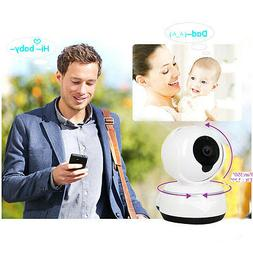 360 WIFI IP Camera Baby Monitor Security Network CCTV Night
