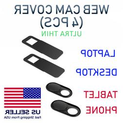 4PCS WebCam Cover Slide Camera Privacy Security Protect For
