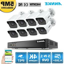 ANNKE 4K 8CH 5in1 DVR 8x 5MP HD Outdoor IP67 Home Security C