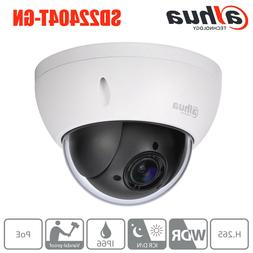 Dahua 4MP 4X PTZ Zoom POE H.265 P2P Camera SD22404T-GN For H
