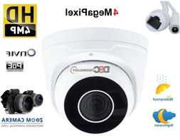 4MP IP Dome Camera with WDR Motorized 2.7-12mm Lens, Audio,