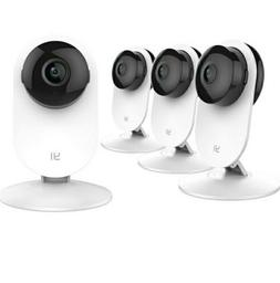 YI 4pc Home Camera, 1080p Wireless IP Security  System with