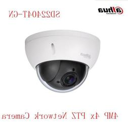 4xPTZ SD22404T-GN  PoE 4MP Security Camera Dome IP IVS Auto
