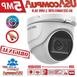 HIKVISION 5MP DOME CAMERA DS-2CE56H0T-ITMF HD-TVI Outdoor BN