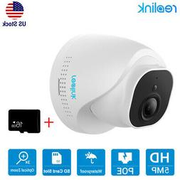5MP POE Security IP Camera CCTV Home Surveillance System RLC