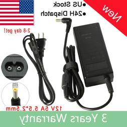 60W Adapter 5.5*2.5mm For ADSL Cats, Security Camera, Dell S