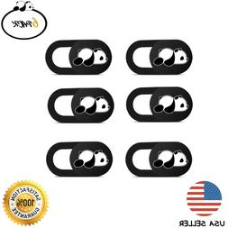 3~6PCS WebCam Cover Slide Camera Privacy Security Protect St