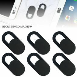 6x Webcam Cover Slide Camera Privacy Security Protect Sticke