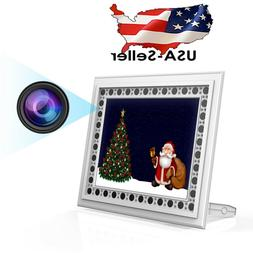 720p HD Picture Photo Frame Hidden Home Office Security Spy