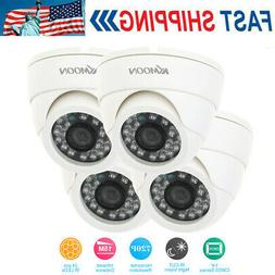 KKmoon 720P CCTV Dome Security Camera Night Vision for Surve