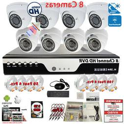 8 Channel 1080p Complete CCTV Surveillance Security Camera S