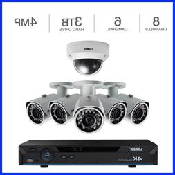 Lorex 8 Channel 4K Ready NVR Security System with 6 Camera &