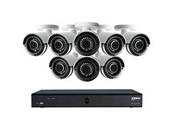 Lorex 16 Channel & 8 Camera 4MP Super HD Security System wit