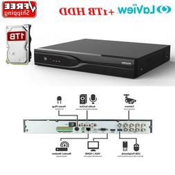 8ch channel 4k hd tvi dvr security