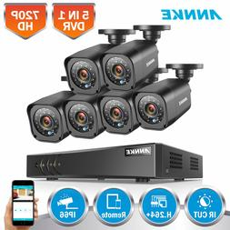 ANNKE 8CH DVR 1500TVL Video Outdoor CCTV Security Camera Sys