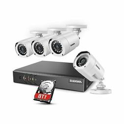 ANNKE 8 Channel Security Camera System 5-in-1 1080P lite H.2