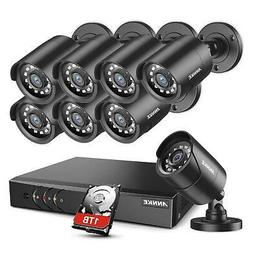 ANNKE Home Security Camera System 8 Channel 1080P Lite DVR w