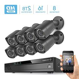 Amcrest Full-HD 1080P 16CH Video Security System w/ Eight 2.