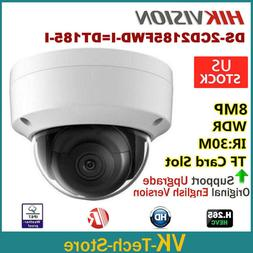 HIKVISION 4K 8MP OEM DS-2CD2185FWD-I 3-Axis IR IP Security C