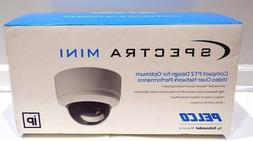 New Pelco SD4N-W1 Network PoE Spectra Mini Compact PTZ Dome