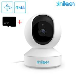 Wireless 4MP PT Security Camera 2.4G 5G WIFI WLAN Baby Monit