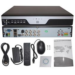 Evertech 8 Channel 720P AHD Realtime H.264 High Profile Stan