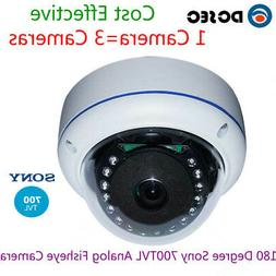 Analog 700TVL 180 Degree Wide Angle Fish eye CCTV Security V