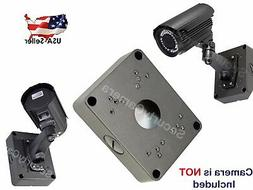 "Evertech Black/Gray 5.3"" Camera Base Junction Outlet Box for"