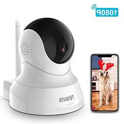 Dog Camera - TENVIS 1080P Indoor Security Camera, Dog Camera