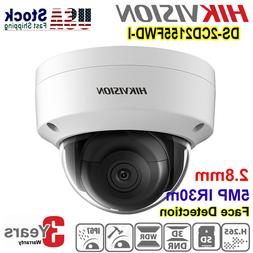 Hikvision DS-2CD2155FWD-I Dome Security IP Camera POE IR30m