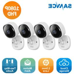 SANNCE Full 1080P Video Wireless Security Camera IP Network