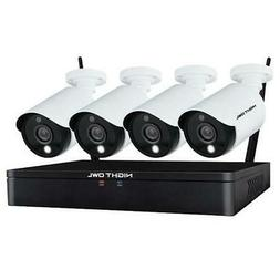 Night Owl HC20X-81-4L 4 Camera 12 Channel 2MP  Hybrid DVR Vi