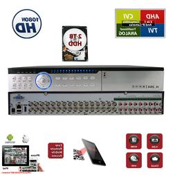 HD 32 Channel H264 DVR with 2TB HDD Security Camera Video Re