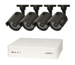 HD 720P 8 Channel DVR Security System 4 Outdoor HD Cameras 1