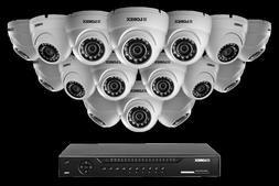 Heavy Duty 16 Dome Camera System HD 1080p Home Security Syst