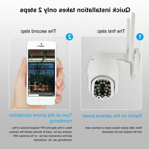 1080P IP Security Wireless Home PTZ