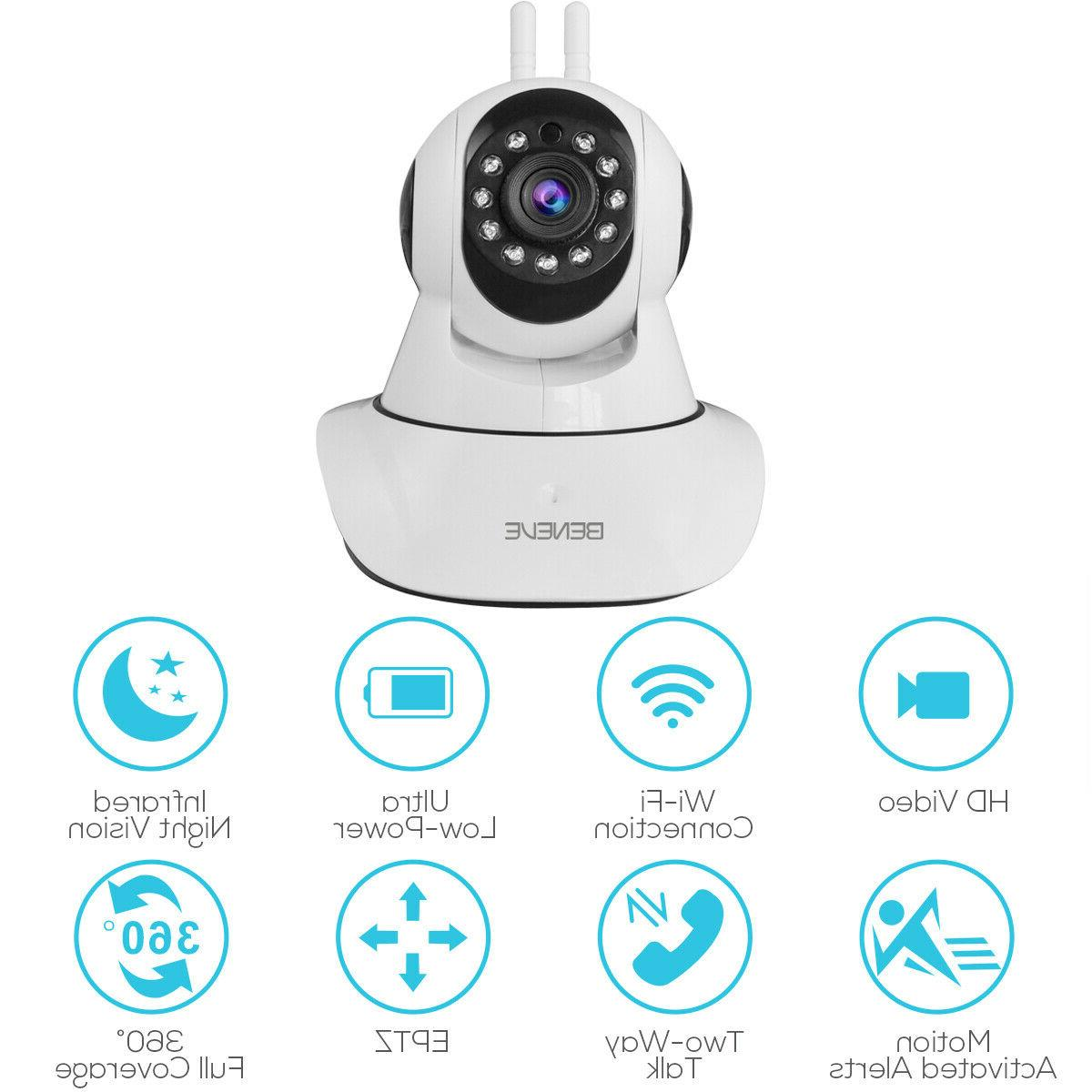 1080P IP Camera Home Security Monitor Night FHD