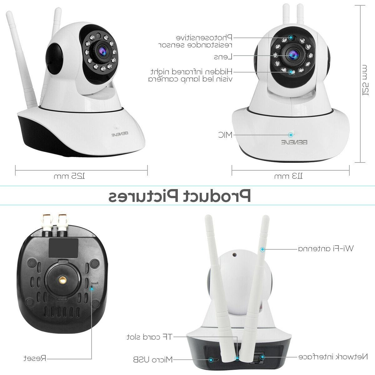 1080P Camera Home Security Monitor Night FHD CCTV