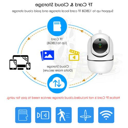 1080P HD WiFi Camera In/Outdoor Home Monitor Night Vision