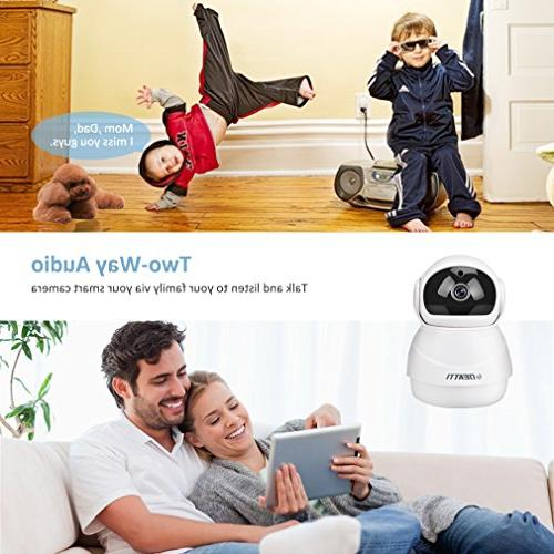 360 Wireless Security 1080P for Home with Way Audio, Pan APP