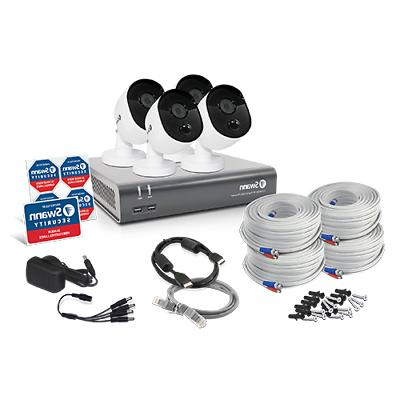 4 Camera 4 1080p Full HD Security System
