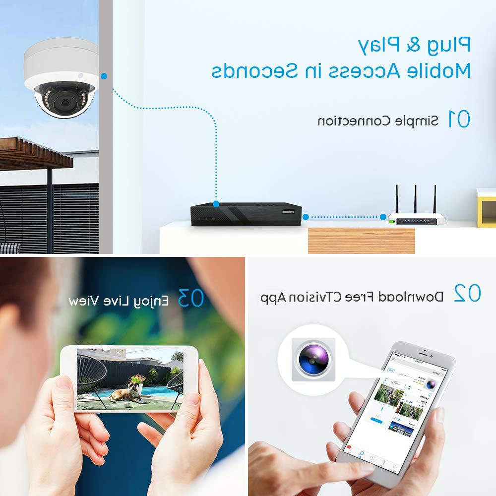 Hikvision 4CH HD